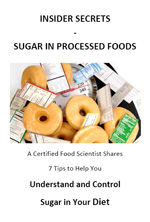 Free Report - Insider Secrets - Sugar In Processed Food